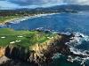 Pebble Beach Monterey Peninsula California Golf . Photo By Joann Dost