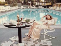 Faye Dunaway beverly hills hotel los angeles 1977