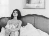 Sophia Loren in bed,  Switzerland, 1978