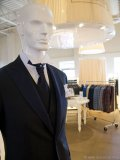 A variety of suits provides event-goers and  grooms-to-be with an unbeatable selection