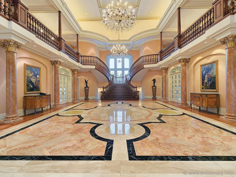 The Grand Foyer : The balding estate dolce luxury magazine