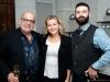 Rami Kleinmann, Michelle Zerillo-Sosa and guest