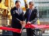 Sam Mizrahi with Mayor John Tory - ribbon cutting ceremony