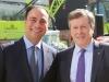 Sam Mizrahi with Mayor John Tory