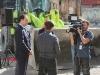 Sam Mizrahi being interviewed by CP24 Toronto