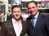 Fernando Zerillo of Dolce Media Group with Sam Mizrahi of Mizrahi Developments