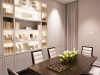 Dining room vignette by Cameo Kitchens at THE ONE Presentation Gallery