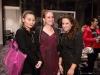 Nora Voon, Nicole Lanteigne with Micki Mizrahi
