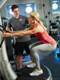 The World features a fitness centre staffed with personal trainers