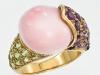 pastel gem ring