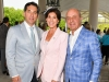 2. Daniel J. Greenglass, founder and co-chair; Rene Pantalone, event chair; and Rocky Pantalone | Photos by George Pimentel
