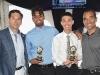 Daniel Greengrass, Randy Ali, Vincent D'Ambrosio and Steven Pinnock