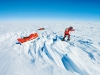 South Pole Quest, 2009. Zahab and two others embark on a self-supported trek to the Geographic South Pole in an effort to raise awareness on climate change.