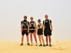 Running Tunisia, 2010. These incredible i2P Youth Ambassadors run through searing heat and massive sand dunes to inspire schools from around the globe to fund two water projects in Africa.