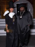 Singer Erykah Badu with Two X Two's featured entertainer this year, CeeLo Green