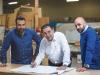 It's a family affair, with Marco Corrente, Ferruccio Corrente and Ferro Corrente Jr. spearheading Unique Store Fixtures Ltd. | Photo By Geoff Fitzgerald