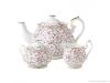 Royal Albert Rose Confetti 3-Piece Tea Set