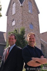 President, Allan Schmidt (left) and brother, Winemaker / VP, Brian Schmidt (right) are third generation wine producers from the Oakanogan in British Columbia.