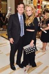 Edward Rogers, deputy chairman of Rogers Communications, and ONEXONE board member Suzanne Rogers