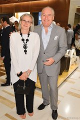 Mayor of Aurora Geoff Dawe and wife Wendy Muller