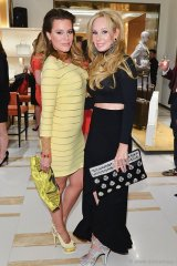 The Room stylist Jenna Bitove and ONEXONE board member Suzanne Rogers.