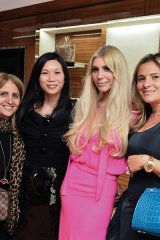 Joey Adler, ONEXONE founder and CEO of Diesel Canada; Joon Ma, vice-president and country manager for Louis Vuitton, Canada and Bermuda; Sylvia Mantella, ONEXONE board member; and Rosemary Barbara