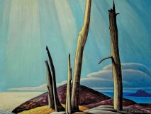 lawren harris lake superior painting x