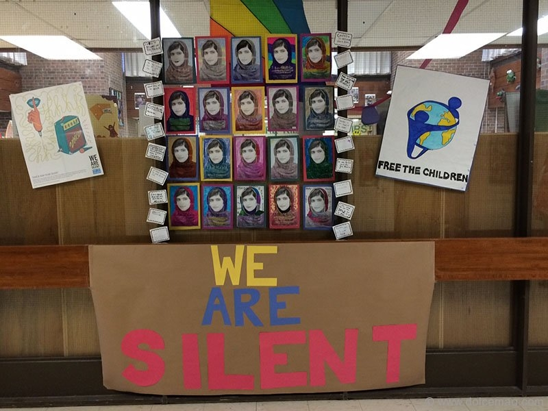charlottetown we are silent display