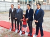 Connie at the age of 6 standing proudly next to her dad Marco Guglietti and surrounded by her uncles, Riccardo Guglietti, Silvio Guglietti and Jonny Guglietti, taken on April 26th, 2014 at the ground breaking ceremonies of The Randall Residences in Oakville | Photo by Dino Rossi