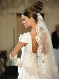 Italian designer Lorenzo Riva has a talent for timeless bridal wear.
