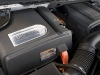 The Hybrid's 6.0-litre, 332-horsepower, Vortec V-8 is outfitted with a 300-volt battery pack, running with the engine or independently.