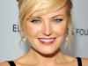 Malin Akerman wearing Yvel pearl earrings