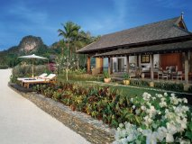 Four Seasons Langkawi:  This exotic resort's beach villas feature private plunge pools, spa treatment rooms, and terrazzo soaking tubs.