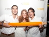 Adam Braun with Julia Fehrenbach (co-organizer of White Party event) and Nick Onken, PoP photographer. Photo by Marisa Erin Photography.