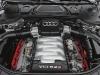 Audi's S8 is powered by a slightly tweaked version of the Lamborghini Gallardo's V-10 engine.