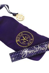 BOND No. 9 NEW YORK: NOW-AND-FOREVER Encapsulating 700 Swarovski stones, this chic pocket-spray is an ultra-luxurious gift idea that she can take anywhere, as it nestles easily in her purse or evening bag. www.bondno9.com $225