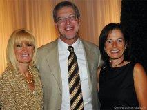 Cynthia Gordon with Warren and Debbie Kimel