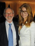celebrated Canadian film director Norman Jewison and Lynne St. David.