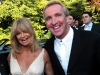 Bobby Genovese shares a laugh with Muskoka neighbour and actress Goldie Hawn at a fundraising event.