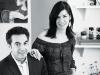 Bochìc founders David Aaron Joseph and Miriam Salat.