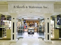B. Sleuth & Statesman Primp up your professional appeal with cufflinks, tie bars and exclusive writing instruments. Selling men's professional accessories, the one-stop shop carries Montblanc, Franklin Covey, Filofax and Letts of London. www.sleuthandstatesman.com