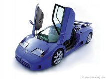 Bugatti EB110 produced between 1991-1994