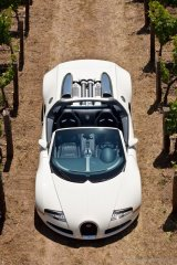 The Grand Sport convertible, the latest iteration of the Bugatti Veyron.