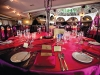 Wedding guests enjoy a romantic ambience at Pavilion Royale.