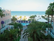 The Don Cesar Hotel in Clearwater, Florida.