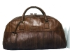 Alligator skin travel bag made by renowned designer Ermenegildo Zegna.