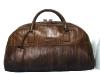 Alligator skin travel bag made by renowned designer Ermenegildo Zegna.