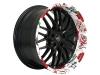 Exclusive Baracuda Wheelz-art rims.