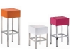 Contemporary minimalism with Suite 22's cubed stools.