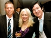 Darrin Bast (founder & event chair of Heart & Music), Brandy Gale (artist) and Bobby Gale (Plug [Music] Inc.)